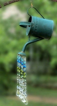 Garden Design Dishfunctional Designs: Dreamy Bohemian Garden Spaces II - Creative ideas in crafts and upcycled, innovative, repurposed art and home decor. Outdoor Projects, Diy Projects, Outdoor Crafts, Outdoor Art, Indoor Outdoor, Auction Projects, Outdoor Balcony, Spring Projects, Metal Projects