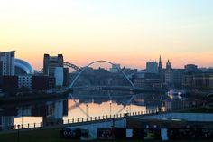 Newcastle upon Tyne in England