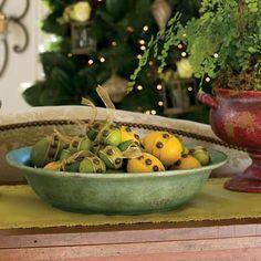 Santorini Decorative Bowl - $19.96 this week only!