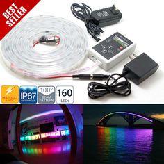 Dream Color RGB 160 LEDs Flexible Light Strip kit