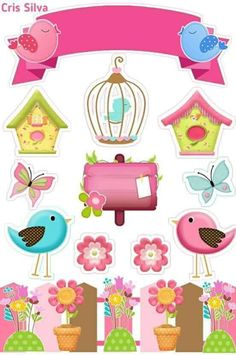 Tips for Cardinals Styles for you! Check out and SAVE this PIN with the . Diy And Crafts, Paper Crafts, Birthday Clipart, Paris Images, Little Birds, Birthday Cake Toppers, Baby Birthday, Print And Cut, Paper Piecing