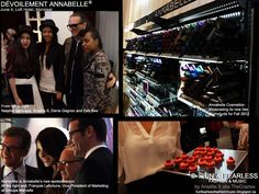 Canadian brand Annabelle was also showcasing innovative makeup products at the forefront of skin care technology. Last but not least, we were there to welcome singer-songwriter Marie-Mai as Annabelle's new spokesperson. Beautiful ladies and gents everywhere, eye-popping make-up display stands, fashion bloggers and Denis Gagnon were all part of the very successful event!