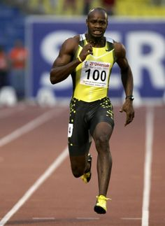 Osafa Powell... Jamaican Sprinter