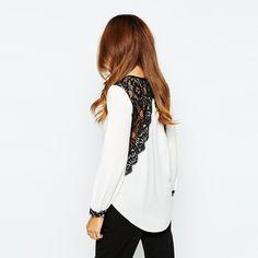 8e36d1c8bf 18 mejores imágenes de lace blouses