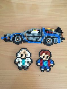 Back to the Future hama beads                                                                                                                                                     More