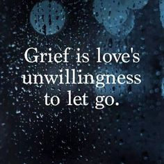 Dementia grief...