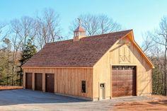 Inspiration for new barnworkshop storage workspace for both 36 x 68 x 12 walls cathedral ceiling newport custom garage ellington ct solutioingenieria Choice Image