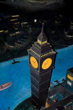 Big Ben, Peter Pan's Flight, Walt Disney World, Orlando, Florida. Find cheap hotels when traveling to Walt Disney World: http://holipal.com/hotels/