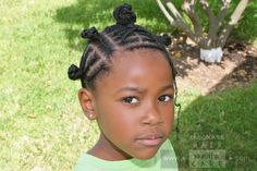 Cornrows with Bantu Knot Headband #NaturalHair #Hairstyle | Chocolate Hair / Vanilla Care