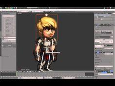 Cutout Animation Tool - Blender - YouTube