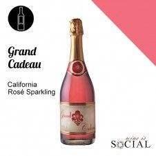 Our California Grand Cadeau Rosé is an exclusive blend, which represents some of the best varietals that our state has to offer when it comes to the sparkling world.