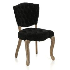 Yates Tufted Fabric Dining Chairs (Set of 2)