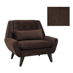 JAR Designs Orbit Chocolate Accent Chair - Overstock Shopping - Great Deals on Living Room Chairs