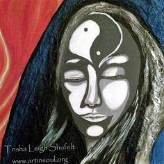 The Grey Lady (c) 2016 Trisha Leigh Shufelt Mixed Media