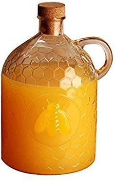 Circleware Honey Bee 2 Liter Clear Glass Jug with Garden ... https://www.amazon.com/dp/B00Q45UVWC/ref=cm_sw_r_pi_dp_x_IO5iybHSADP8R