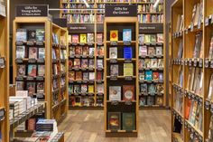 """There's an Amazon Bookstore Now -- Amazon Books — the 1st brick-&-mortar location of a book-selling enterprise that made many bookstore chains irrelevant — opens in Seattle today. As Quartz points out, the mall where the bookstore is located used to house a Barnes & Noble — until it closed in 2011. Amazon Books will sell around 6,000 titles, & every book's cover will be prominently displayed; Amazon Books VP Jennifer Cast said, """"We realized that we felt sorry for the books that were spine…"""
