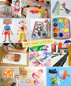 great art ideas for the little ones