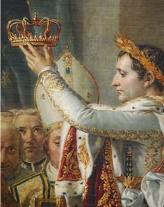 Consecration of the Emperor Napoleon I and Coronation of the Empress Josephine by Jacques-Louis David.