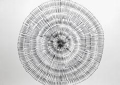 A1 Large Original Contemporary Black & White by Manjuzaka on Etsy, €83.00