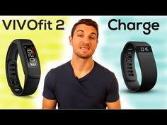 Fitbit Charge vs. Garmin vívofit 2 Fitness Tracker REVIEW | Best Fitness Trackers - YouTube