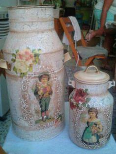 Lecheras vintage