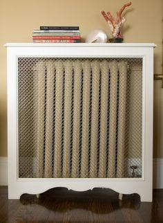Heating Cover Design Ideas, Pictures, Remodel, and Decor - page 7 - mit nem anderen Gitter wunderschön!