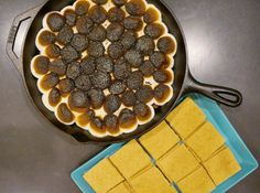 Cast-Iron S'more for indoors
