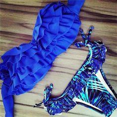 New Comfortably Women Brazilian Low Waist Bikini Set Swimwear Women Swimsuit Sexy Swimwear Bathing Suit