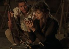 Romantic Moment of the Week – Rick and Evelyn from The Mummy