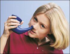 Neti Pot Bidet Sinus flushing and nasal irrigation
