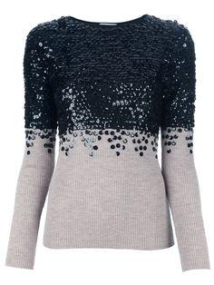 Moschino Cheap & Chic embellished sweater.