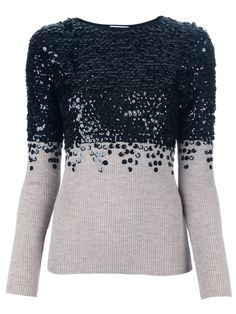 Moschino Cheap & Chic embellished sweater.