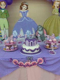 Sofia the First Birthday Party Ideas: