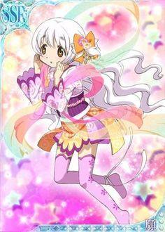 Nagisa - Madoka Magica Mobage Cards 〖 Puella Magi Madoka Magica Mahou Shoujo Maho Shojo Nagisa Momoe pretty colorful 〗