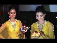 Urvashi Rautela's Diwali Celebration 2016.