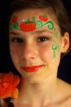 36 Face Paint Harvest Ideas Face Painting Face Painting Halloween Face Painting Designs