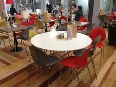 Cafe Barca #Calligaris Basil chairs
