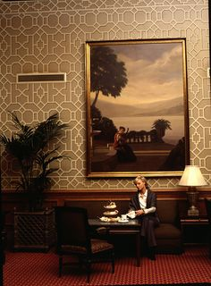 Afternoon Tea at The Palm Court by The Drake Hotel Chicago, via Flickr