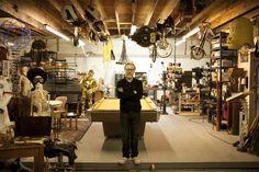 Adam Savage's workshop / mancave