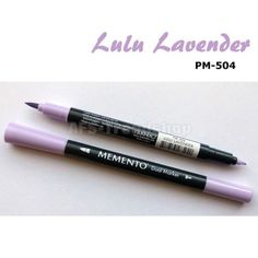 Tsukineko Memento Dual Tip Marker Water by SeptemberPlayground