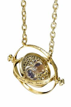 Authentic recreation of Hermione's time-turner necklace.