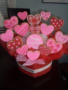 Lets Have Cake Valentine Cookies Valentines Day Cookies, Valentine Cookies, Valentines Day Treats, Easter Cookies, Birthday Cookies, Christmas Cookies, Valentine Nails, Valentine's Day Sugar Cookies, Iced Cookies