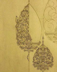 Carpet Runners With Rubber Backing Islamic Art Pattern, Pattern Art, Bleistift Design, Gothic Pattern, Illumination Art, Persian Motifs, Indian Folk Art, Iranian Art, Madhubani Painting