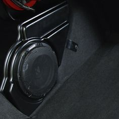Deliver thrill and musical accuracy of live-concert experiences, minus the crowds with an upgraded Audio System-Subwoofer. This system adds big-bass subwoofers in a small space, along with high-efficiency, low power-draw amplifiers and a unique sound signature from multi-channel amps with DSP.