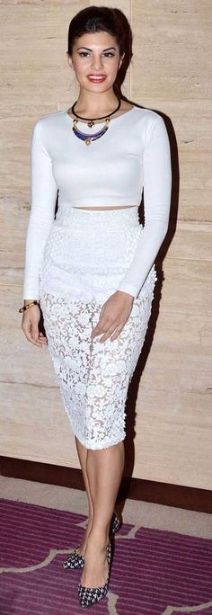 Jacqueline Fernandes & other #Bollywood Beauties in #CropTops.. #SS14 #Blouses
