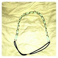 New Gold chain detail elastic headband New. Accessories Hair Accessories