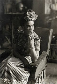 """A """"prettier"""" adaptation of Frida Kahlo's self-portrait has been circulating the internet. machine and it's not pretty. Frida's iconic look has been appropriated ever s…"""