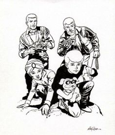 Jonny Quest, an amazing cartoon to watch when it originally aired.