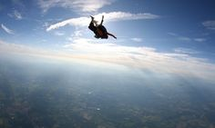 Sky Diving .... gotta try it at least once. Follow us to http://diygods.com