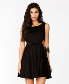Cutout Bow Dress | FOREVER21 - 2034803741